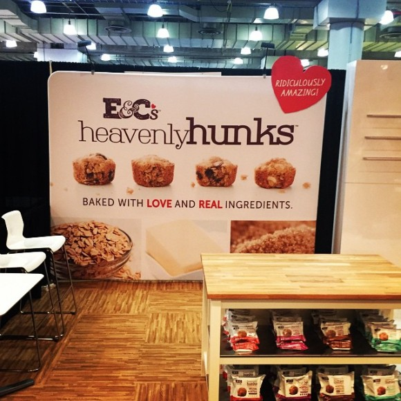 E&C's Booth at the July Specialty Food Show in New York - Photo Courtesy of E&C's Snacks (Eden Prairie)