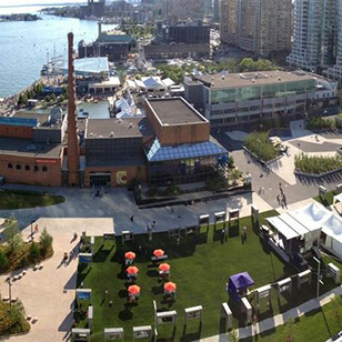 The Harbourfront Centre in Toronto - site of The Great Canadian Butter Tart Bake-Off - Photo Courtesy of The Harbourfront Centre (Toronto)