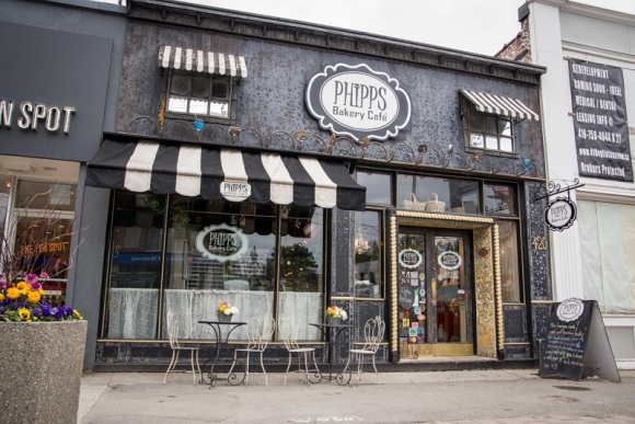 Storefront of Phipps Bakery Cafe - Photo Courtesy of Phipps Bakery Cafe (Toronto)