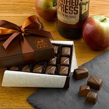 Milk Chocolate Apple Caramels from Lake Champlain Chocolates - Photo Courtesy of Lake Champlain Chocolates (VT)