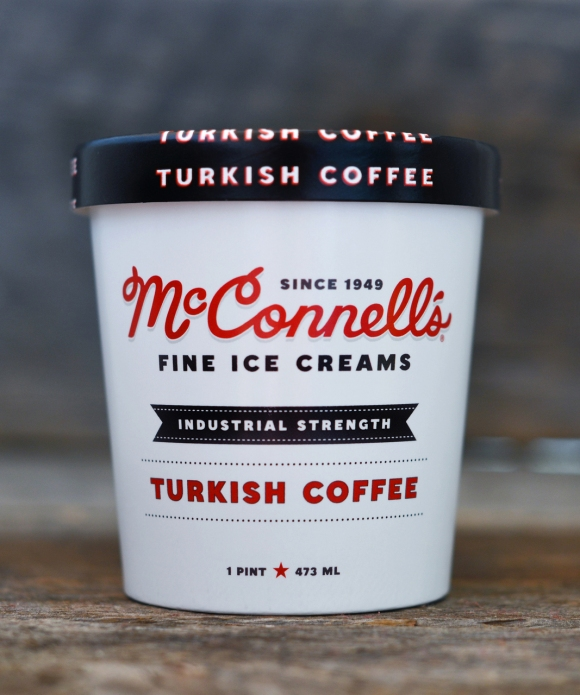 Turkish Coffee Ice Cream from McConnell's Fine Ice Creams - Photo Courtesy of McConnell's Fine Ice Creams (Santa Barbara, CA)