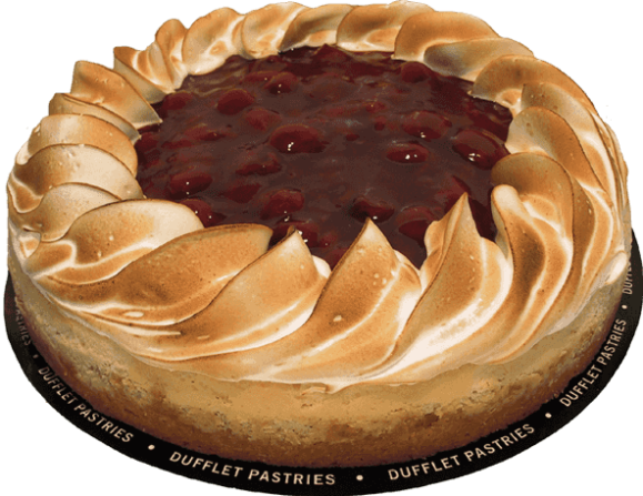 Sour Cherry Cheesecake from Dufflet - Photo Courtesy of Dufflet (Toronto)