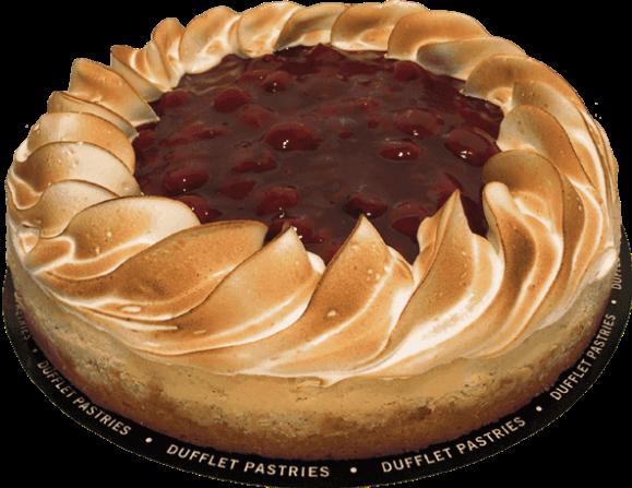 Sour Cherry Cheesecake from Dufflet - Photo Courtesy of Dufflet (Toronto)