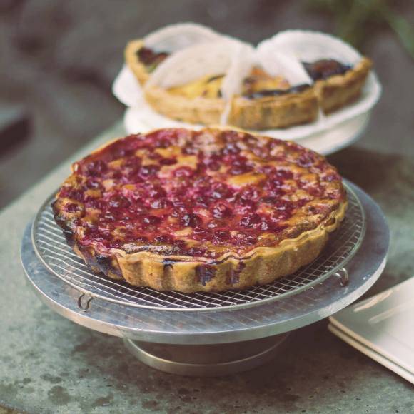 Cherry Clafoutis from Le Panier - Photo Courtesy of Le Panier (Seattle, WA)